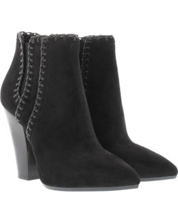 Channing Bootie Suede Black
