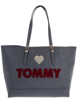 Honey Ew Tote Embroidered Midnight