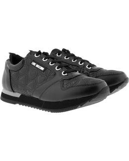 Sneaker Heart/peace Nero