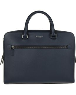 Harrison Md Ft Zip Briefcase Navy