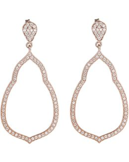 Glam And Soul Fatima's Garden Earrings Rosegold