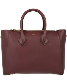 Helena Large Satchel Burgundy