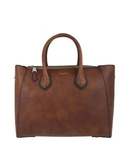 Helena Large Satchel Burnished