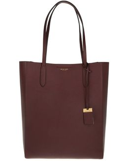 Eleanor Lg Ns Tote Burgundy