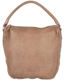 Sanjo Hobo Bag Macaque Pink