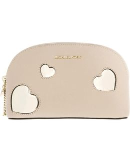 Peek A Boo Cosmetic Bag Pochette Oyster Giftbox