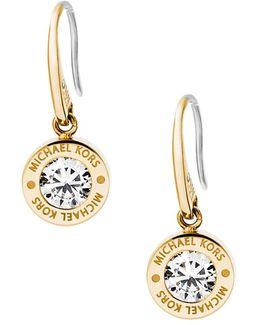 Ladies Brilliance Earrings Gold