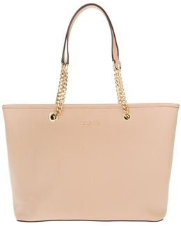 Jet Set Travel Chain Tz Multifunction Tote Oyster
