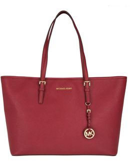 Jet Set Travel Md Tz Multifunction Tote Cherry