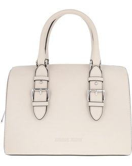 Eco Synthetic Bowling Bag Light Beige