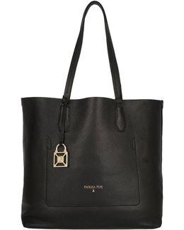 Shopping Bag Black / Shiny Gold