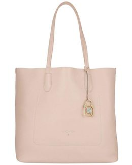 Shopping Bag Butterfly Rose / Shiny Azure