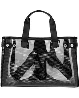 Plastic Mesh Shopping Bag Black