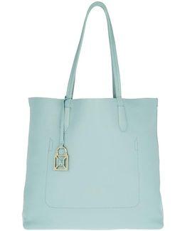 Shopping Bag Pure Water/shiny Azure