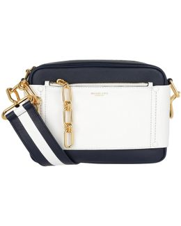 Julie Sm Camera Bag Maritime/optic White
