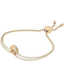 Ladies Logo Slipknot Bracelet Gold