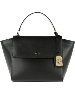 Barclay Leather Crossbody Bag Black