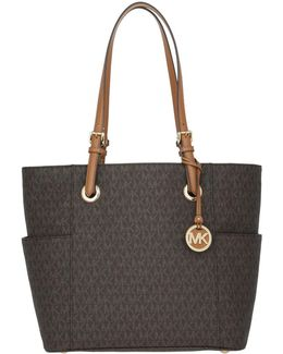 Jet Set Travel Tote Brown