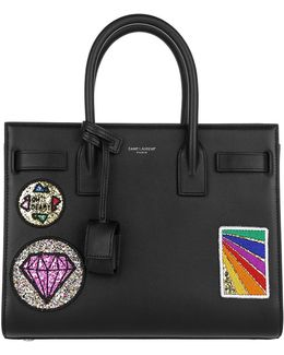 Ysl Baby Sac De Jour With Patches Black
