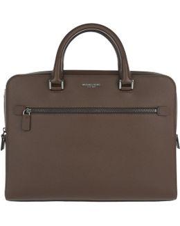 Harrison Medium Briefcase Mocha