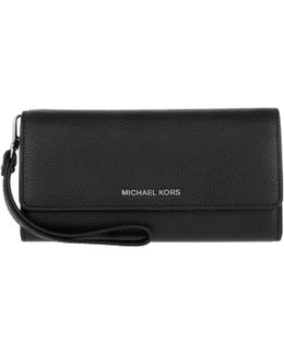 Mercer Large Wristlet Carryall Leather Black