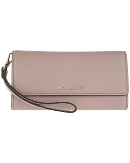 Mercer Lg Wristlet Carryall Leather Fawn