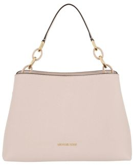 Portia Satchel Leather Soft Pink