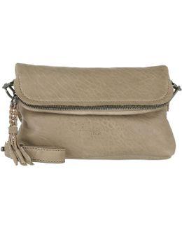 Nyalas7 Crossbody Bag Leather Elephant Grey