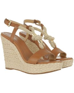 Holly Leather Wedges Acorn