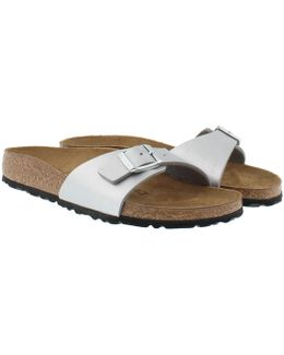 Madrid Bs Narrow Fit Sandal Silver