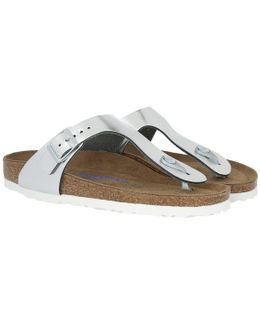 Gizeh Bs Narrow Fit Sandal Silver