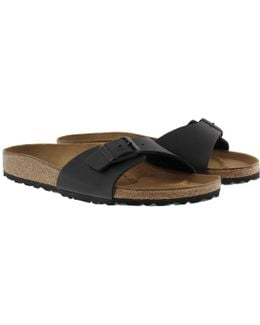 Madrid Bs Narrow Fit Sandal Black