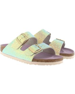 Arizona Bs Narrow Fit Sandal Ombre Pearls Silver Orchid