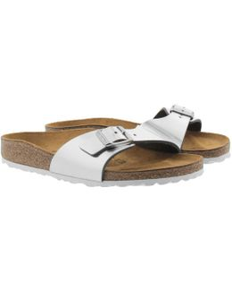 Madrid Bs Narrow Fit Sandal Metallic Silver