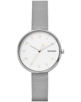 Ladies Signatur Stainless Steel Silver