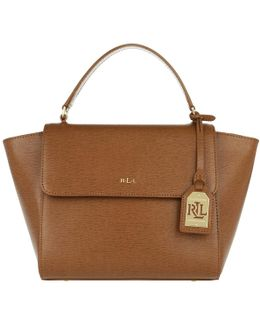 Barclay Leather Crossbody Bag Tan