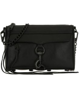 Mini Mac Crossbody Bag Black