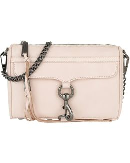 Mini Mac Crossbody Bag Soft Blush