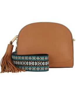 Sunday Moon Crossbody Bag Almond
