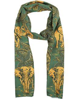 Elefante Scarf Green/yellow
