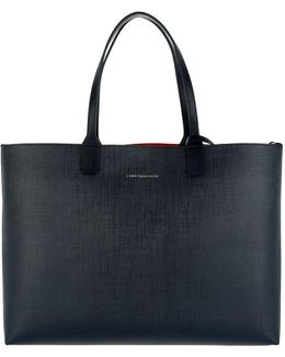 Love Tommy Reversible Tote Navy/red