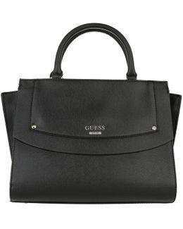 Cool Mix Satchel Bag Black