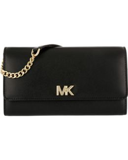 Mott Xl Wallet Clutch Leather Black