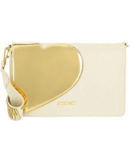 Crossbody Bag Calf Pu Avorio/oro