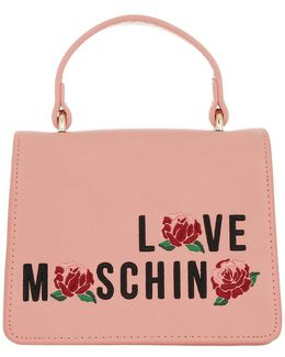 Embroidered Crossbody Bag Rosa