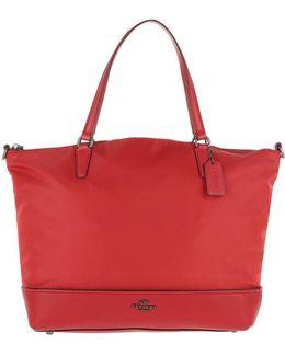 Satchel Bag Nylon True Red