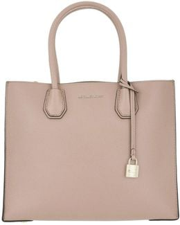 Mercer Large Tote Leather Soft Pink