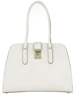 Milano M Tote Leather Petalo