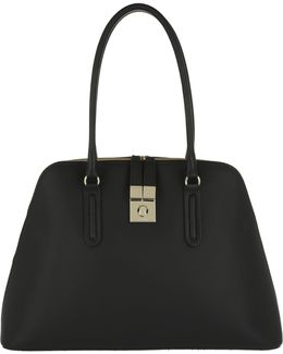 Milano Shopping Tote Black