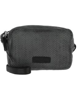 Dibajah7 Leather Crossbody Bag Oil Black